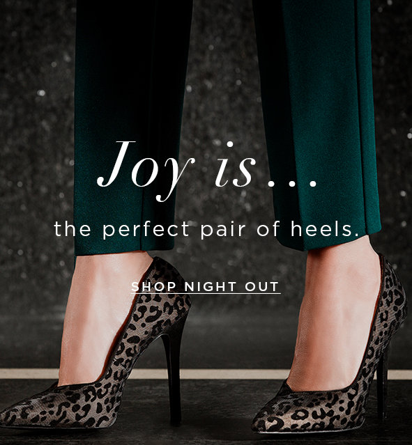 Shop Night Out Heels