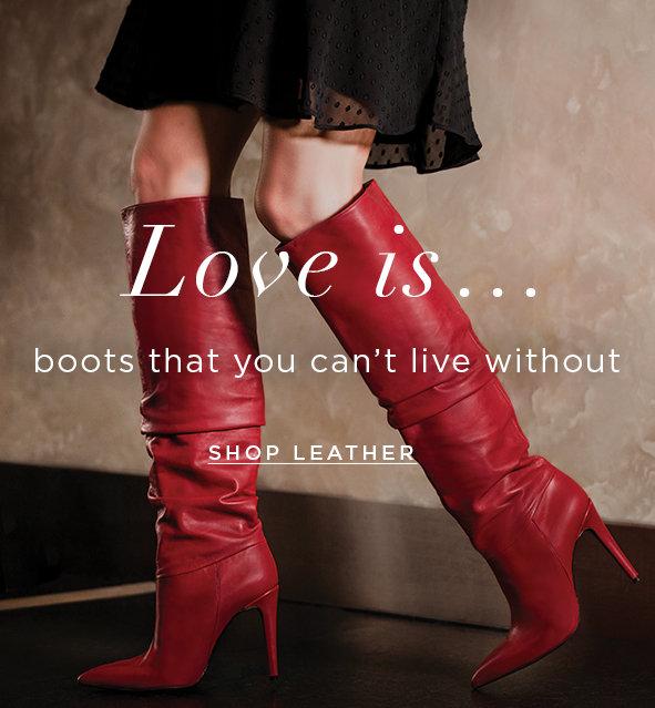 Shop Women's Leather Boots & Shoes