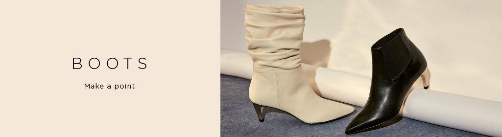 BOOTS. Make a point. Shop Women's Boots