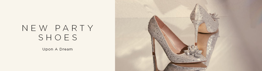 NEW PARTY SHOES. Upon A Dream. Shop Women's Evening Shoes