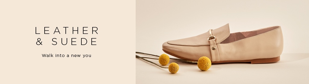 Leather & Suede. Walk Into A New You. Shop Women's Leather and Suede Shoes