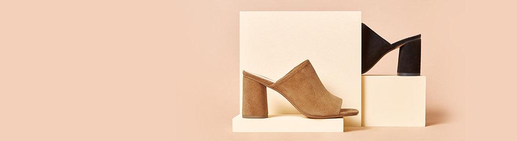 Spotlight stealers. Modern, stand out styles. Shop Women's Italian & Brazilian Made Shoes