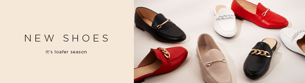 NEW SHOES. It's loafer season. Shop Women's Shoes