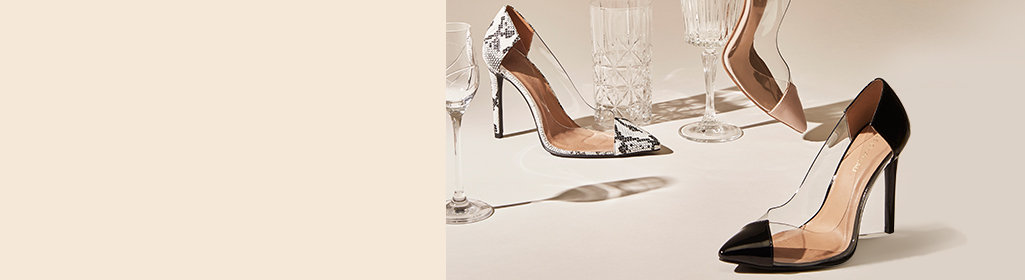 NEW PUMPS. Lucite is a clear winner. Shop Women's Pumps