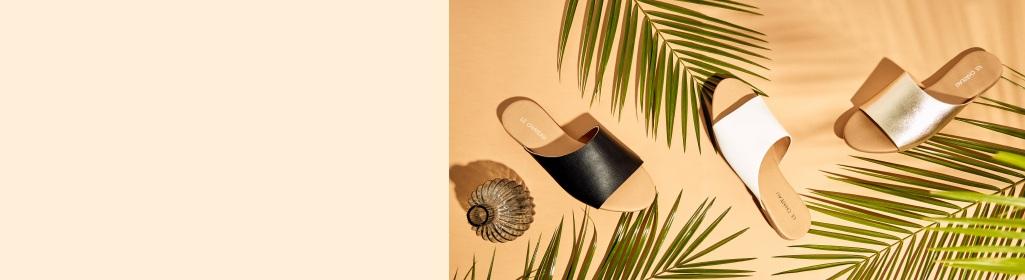 WARM-WEATHER ESSENTIALS. Slip into stylish sandals. Shop Women's Sandals