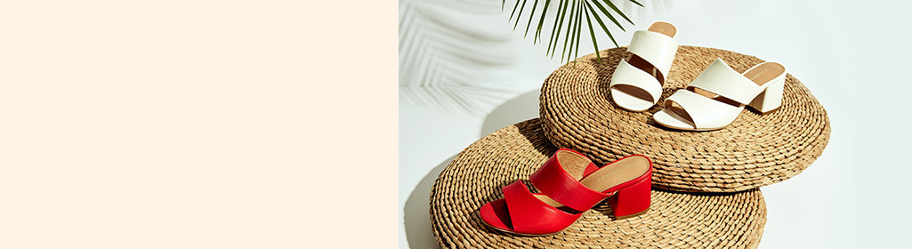 Show your toes. Sandals for all your needs. Shop Women's Sandals