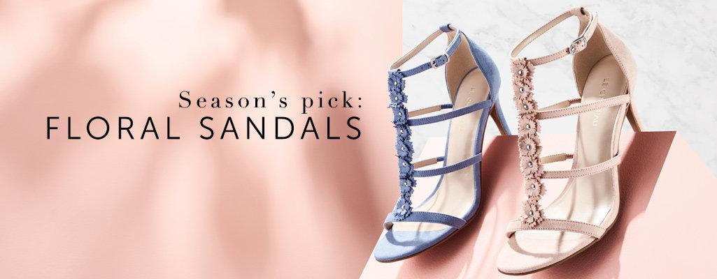 Shop Floral Sandals