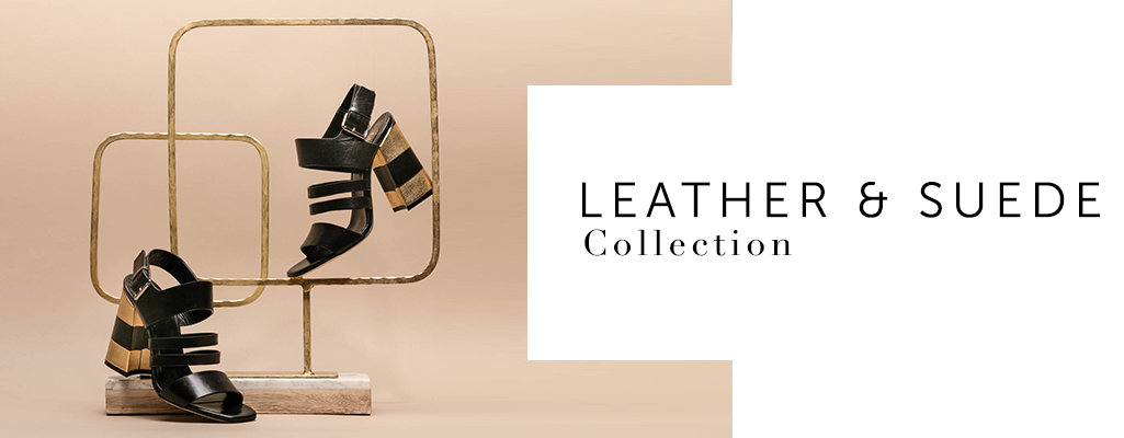 Leather and Suede Shoe Collection