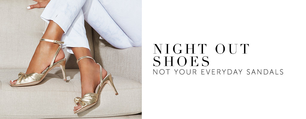 Night Out Shoes. Knot your everyday sandals