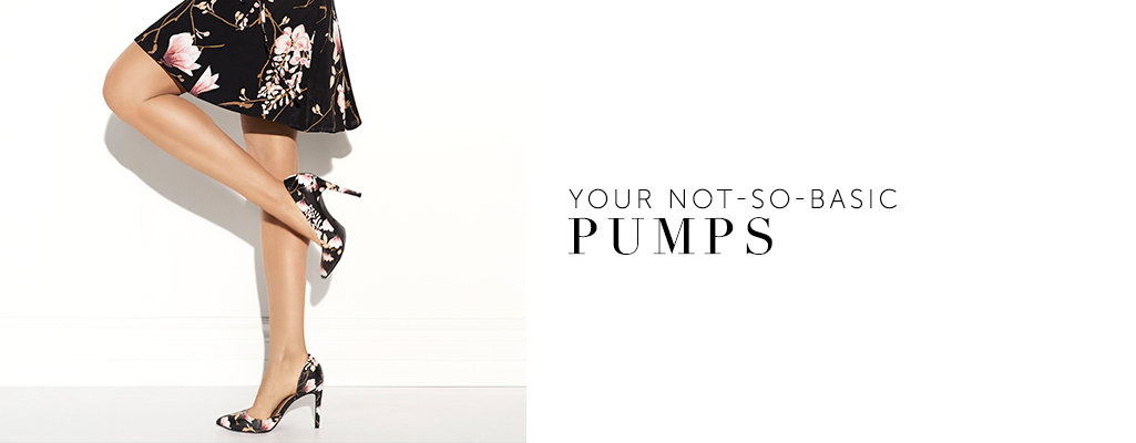 Pumps - Never go out of style