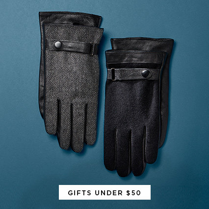 Shop Gifts Under $50 for Men