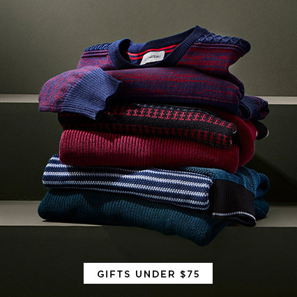 Shop Gifts Under $75 for Men