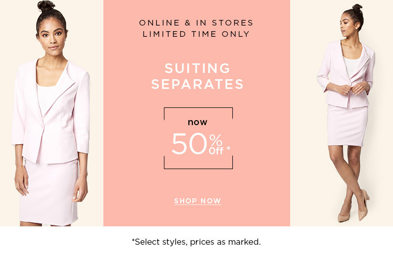 Shop Women's Suiting on Sale