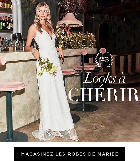 Éclat de simplicité. Découvrez des tenues raffinées pour la mariée moderne. Nos robes prêtes-à-aimer, prêtes-à-expédier sont là pour vous. Magasinez les robes de mariée