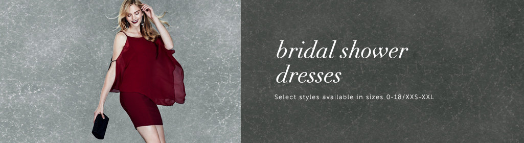 Shop Dresses for a Bridal Shower