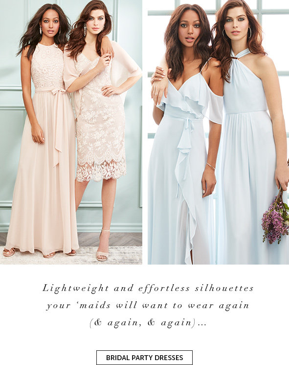 Shop Bridal Party Dresses
