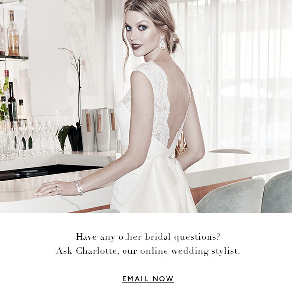 Ask Charlotte, Our Wedding Stylist