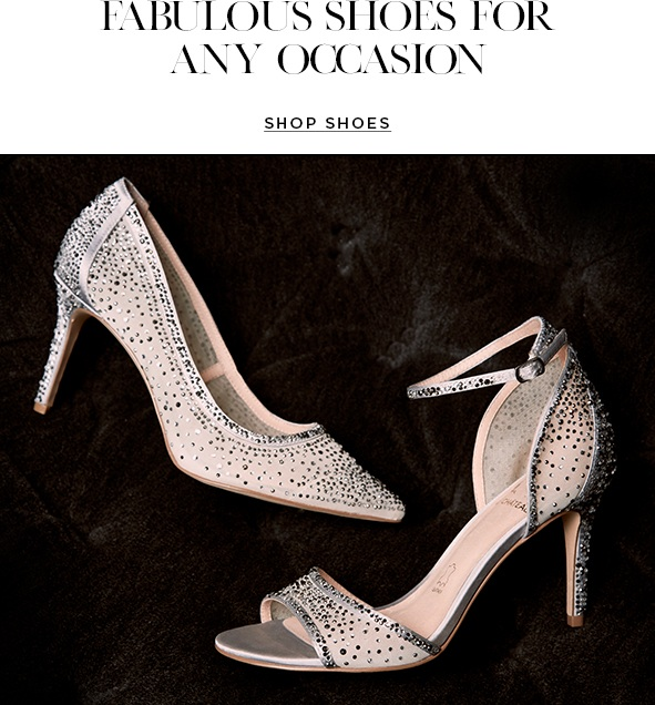 FABULOUS SHOES FOR ANY OCCASION