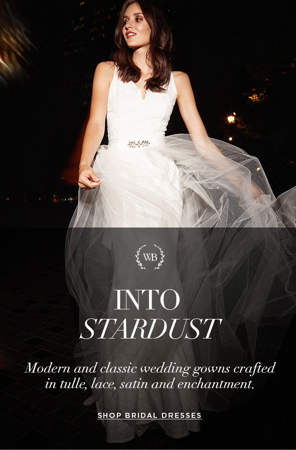 INTO STARDUST Modern and classic wedding gowns crafted in tulle, lace, satin and enchantment.