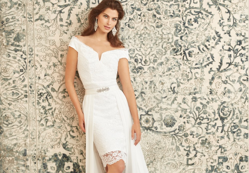 Yours Truly Every dress is a finely spun love story designed to perfectly illuminate your unique bridal style. Fall under this spell >