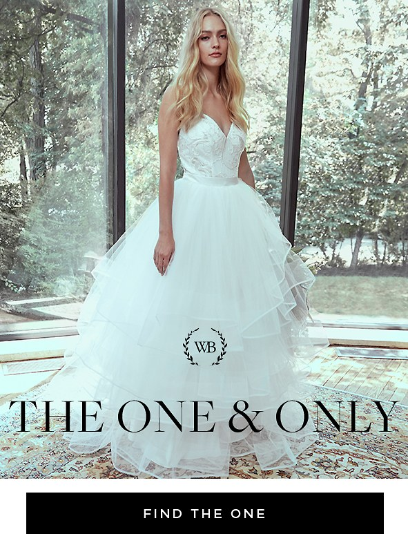 Set your big day apart from the rest with our magical collection of just-in gowns.