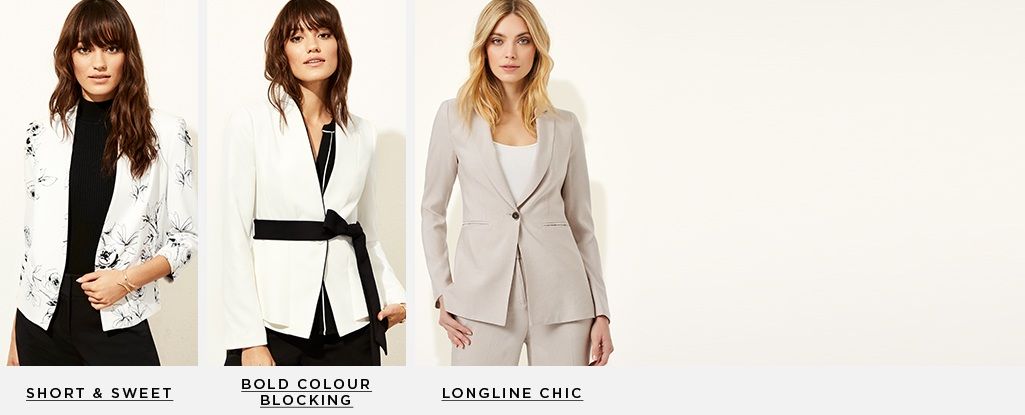 48ee46987 Major Blazers. The perfect piece for dressing up or down. Short & Sweet >