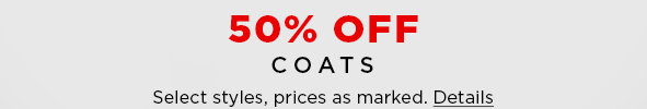 Shop Coats on Sale