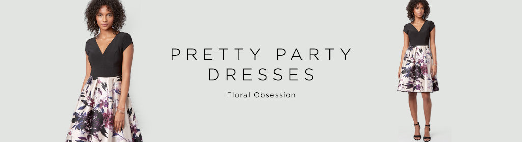 Pretty Party Dresses Floral Obsession.