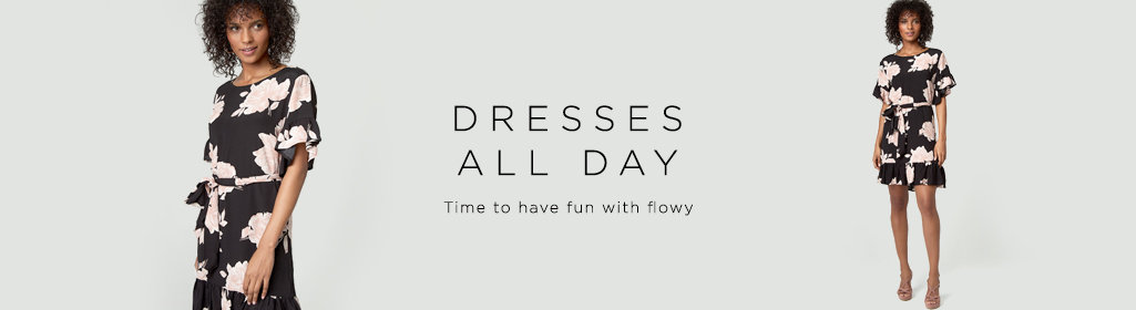 Dresses All Day Time to have fun with flowy.