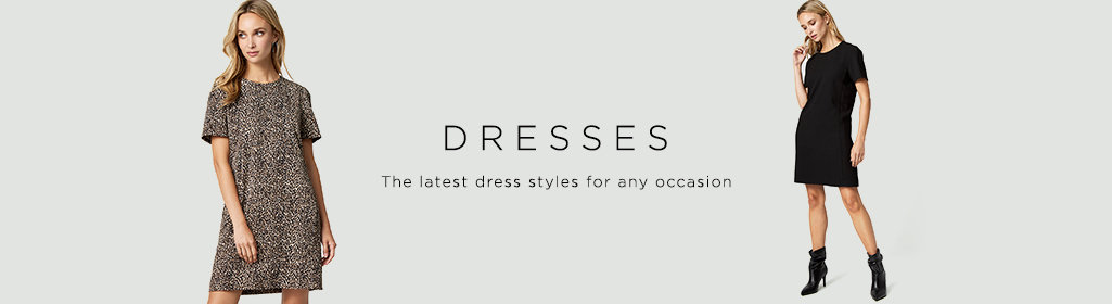 Dresses. The latest dress styles for any occasion