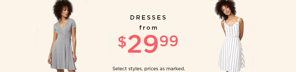 Shop Dresses on Sale