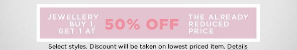 Shop Women's Jewellery on Sale