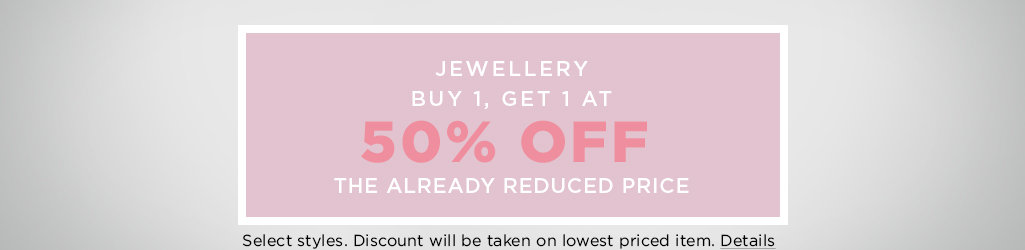 Shop Women's Jewellery on Sale