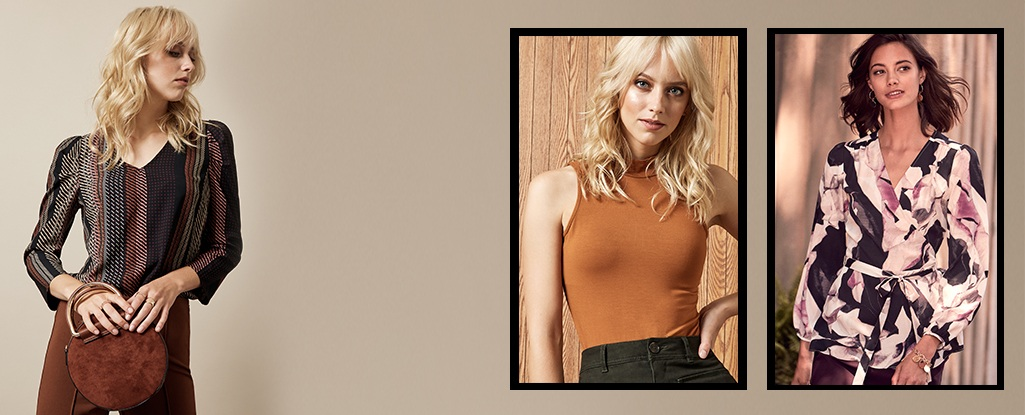 Wear Now & Later Tops. Meet the perfect transitional tops to wear now & into fall.