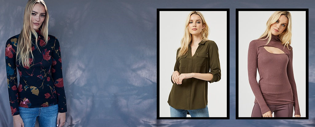 Versatile Tops. From layering to statement pieces, our tops are exactly what you need.