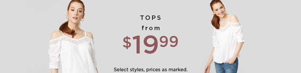 Shop Tops on Sale