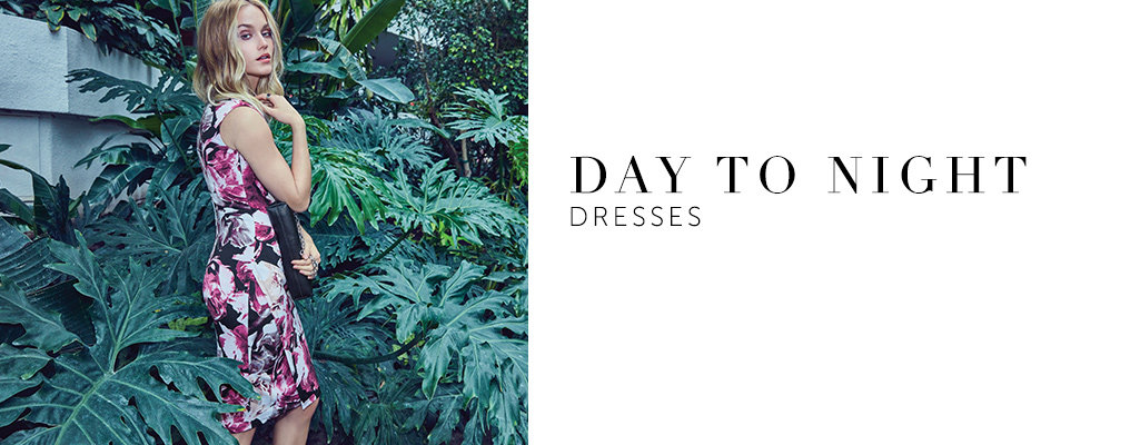 Shop day to night dresses