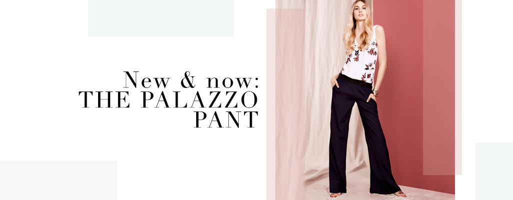 Shop the Trend: Palazzo Pant
