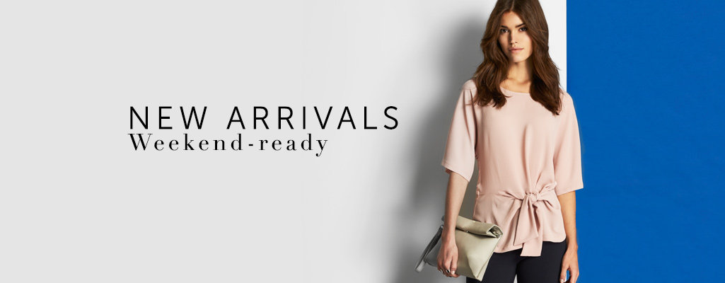 Shop New Weekend Styles