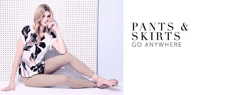 Shop Women's Weekend Pants and Skirts