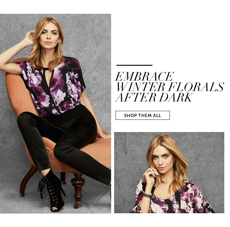 Shop Dark Florals