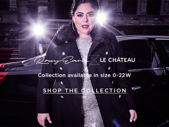 This season, all sizes will sparkle with Roxy Earle x Le Château. Collection available in size 0-22W. Shop the collection >