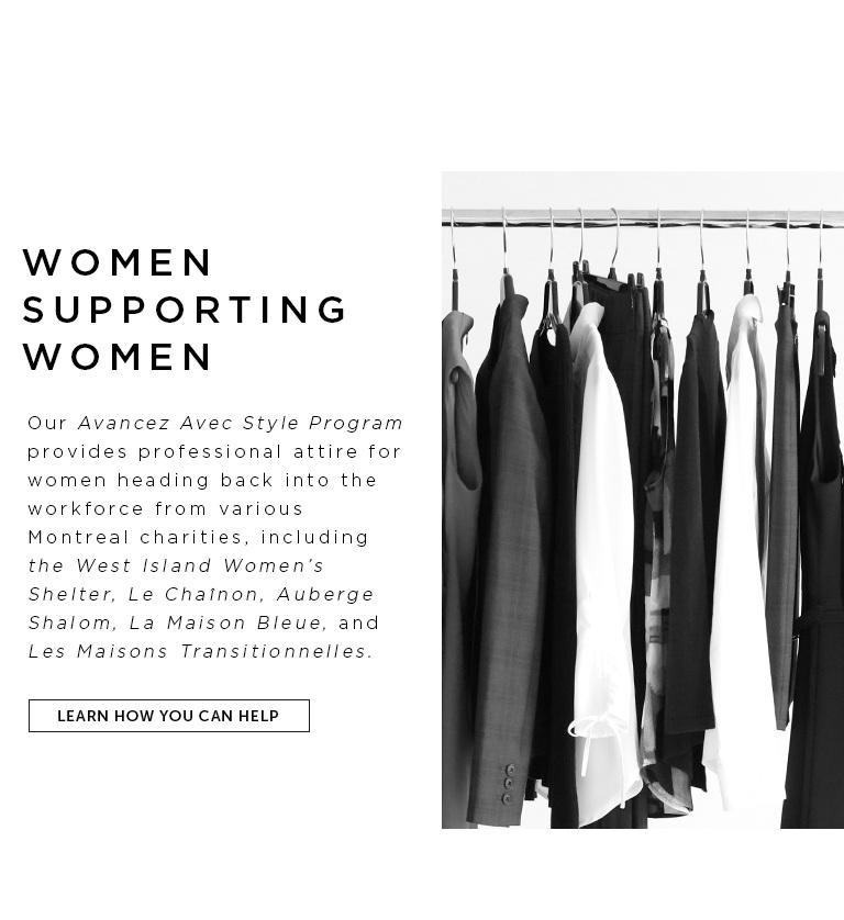 Participate in our Avancez Avec Style Program
